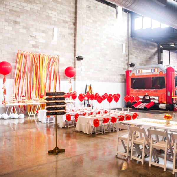 MC FIREMAN-THEMED BIRTHDAY PARTY